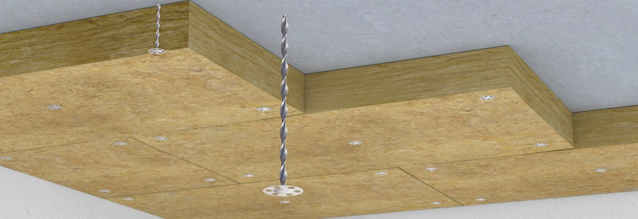 fixing-overhead-soffit-insulation-boards-july21